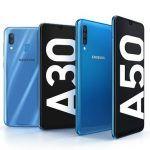 Samsung Galaxy A30 y A50 oficiales: gama media con pantallas de 6,4″
