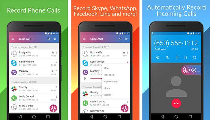 Grabar Llamadas de Voz en WhatsApp Android