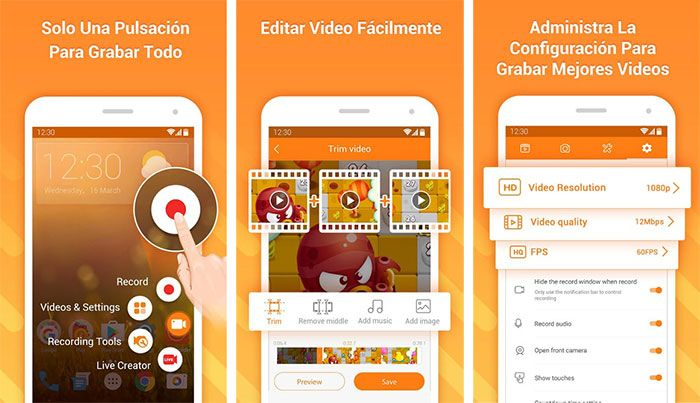Grabar VideoLlamadas en WhatsApp Android