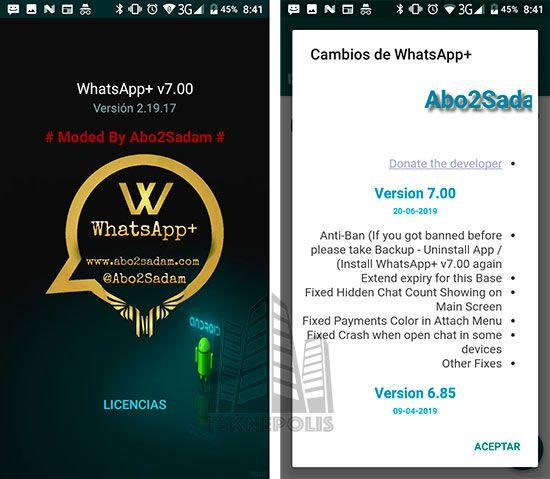 WhatsApp PLUS 7.00