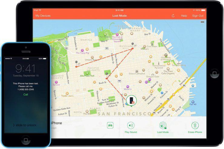 aplicación Buscar para iOS 14