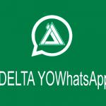 DELTA YOWhatsApp 3.6.3, una modificación de WhatsApp impresionante