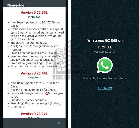 WhatsApp GO 0.20.50L