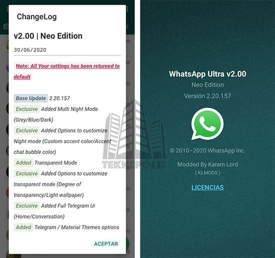 WhatsApp Ultra 2.00