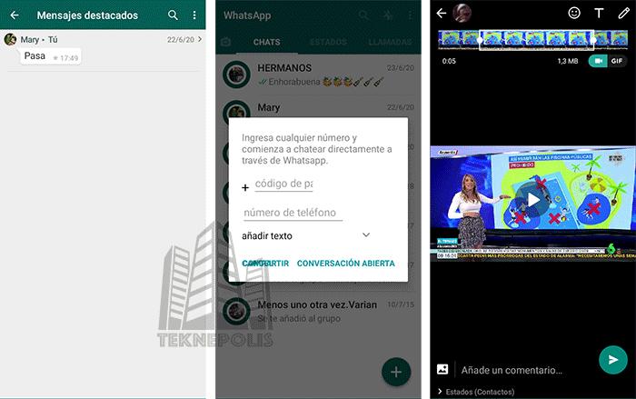 funciones extras en whatsapp plus