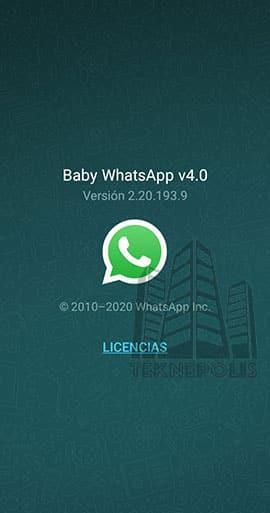 Baby WhatsApp 4.0