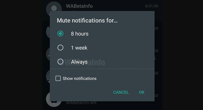 imagen de Silenciar los chats y grupos de WhatsApp para SIEMPRE