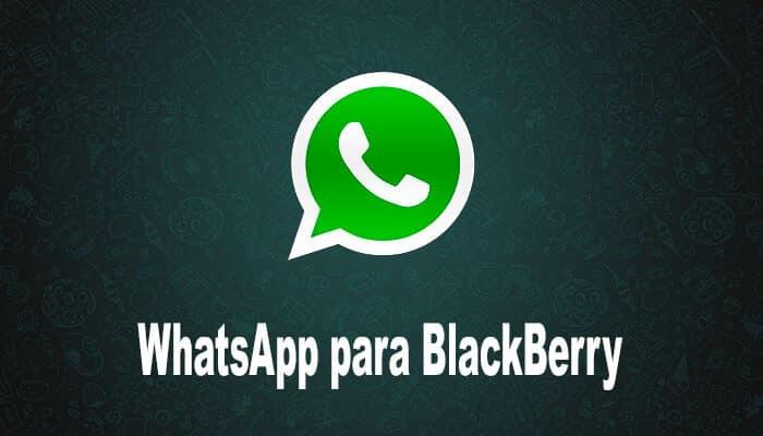 imagen de WhatsApp para BlackBerry
