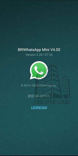 imagen última versión de BriWhatsApp 4.00