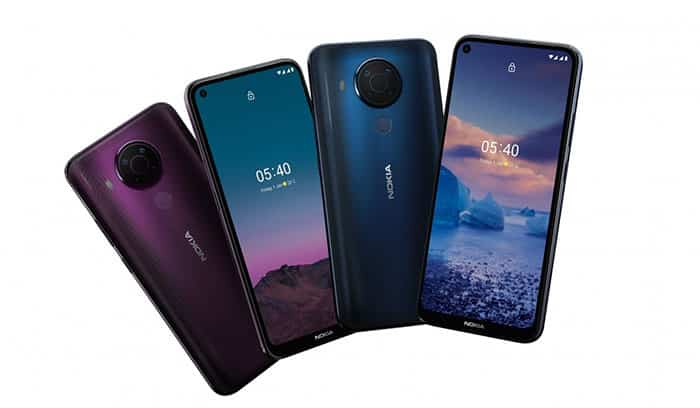 imagen oficial del Nokia 5.4