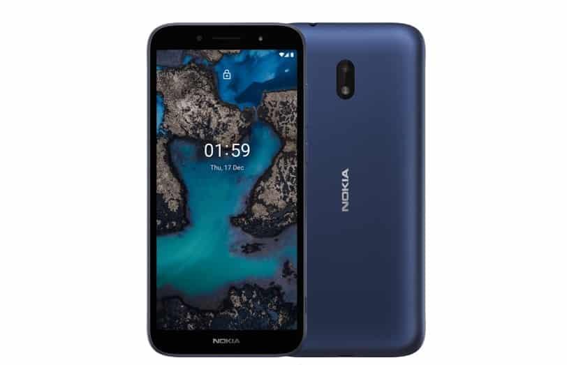 imagen oficial de Nokia C1 Plus