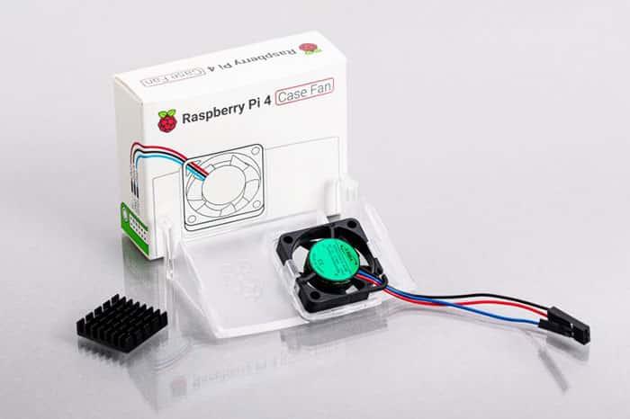 imagen oficial de Ventilador para Raspberry Pi 4 Model B