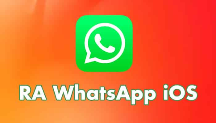 Ra WhatsApp iOS