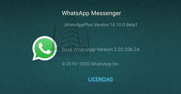 imagen con las últimas novedades de WhatsApp Plus 14.10.0
