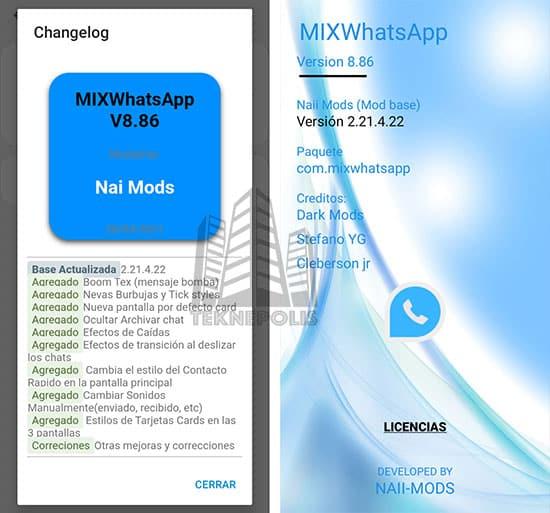 WhatsApp Mix 8.86 imagen 04