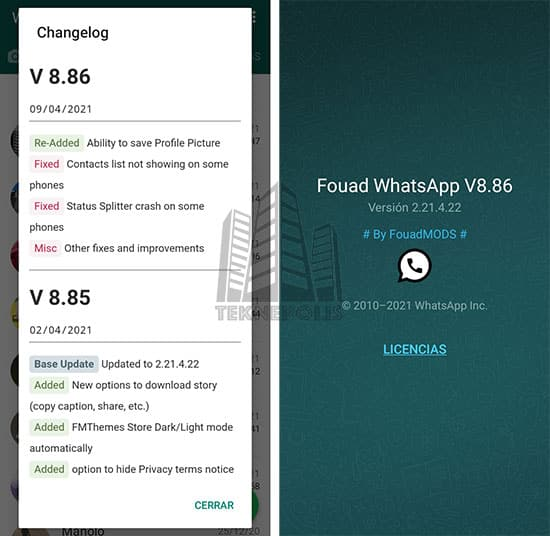 Fouad WhatsApp 8.86
