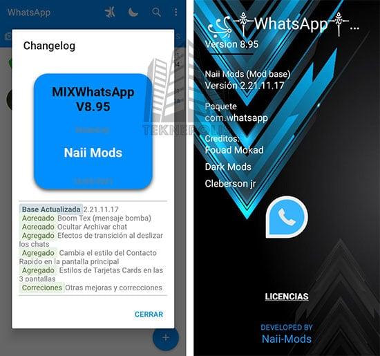 WhatsApp Mix 8.95 imagen 04