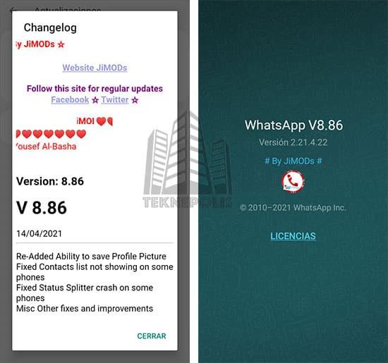 WhatsApp Plus JiMODs 8.86 imagen 04