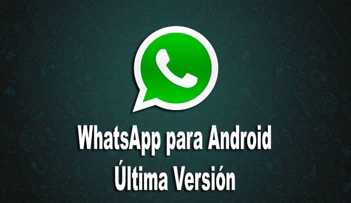 WhatsApp para Android imagen 01