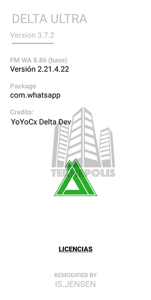 Delta WhatsApp ULTRA 3.7.2 imagen 04