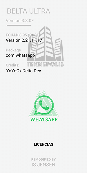 Delta WhatsApp ULTRA 3.8.0F imagen 04
