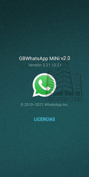 GBWhatsApp Mini v2.0 imagen 04