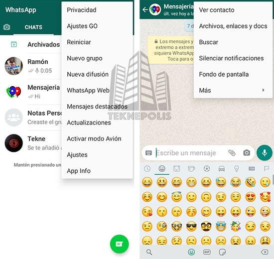 WhatsApp GO imagen 01
