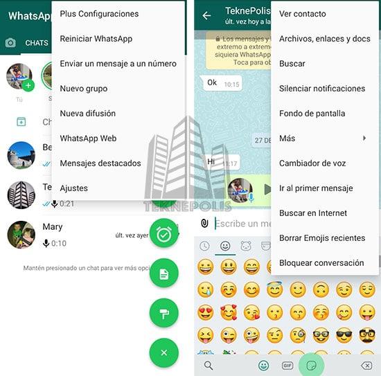 WhatsApp PLUS AZUL de AlexMods imagen 01