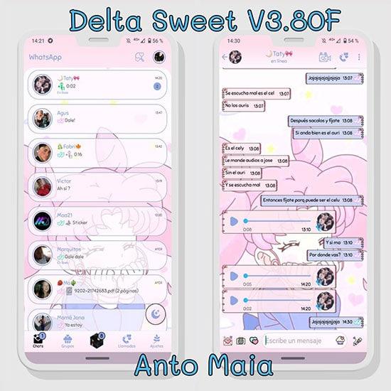 WhatsApp Delta Femenino