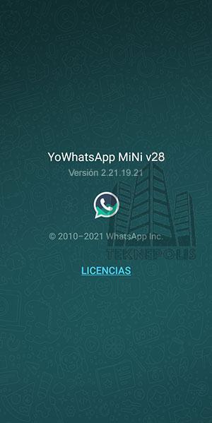 YoWhatsApp Mini 28