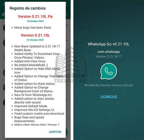WhatsApp GO 0.21.10L Fix imagen 04